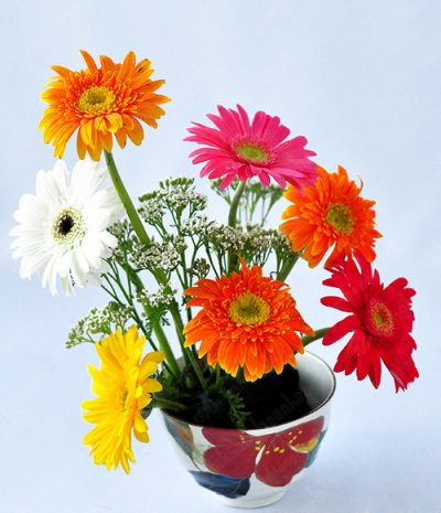 Một vài kiểu cắm hoa đơn giản cho người mớii bắt đầu